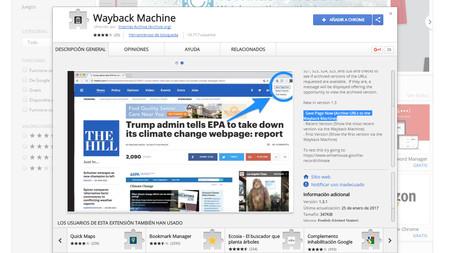Internet Archive quiere combatir la censura permitiéndote preservar páginas desde su extensión para Chrome