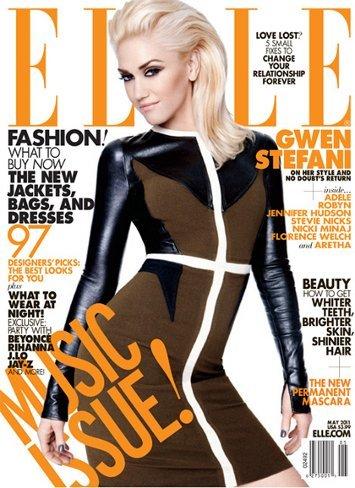 Gwen Stefani: dos portadas con un melenón para mayo