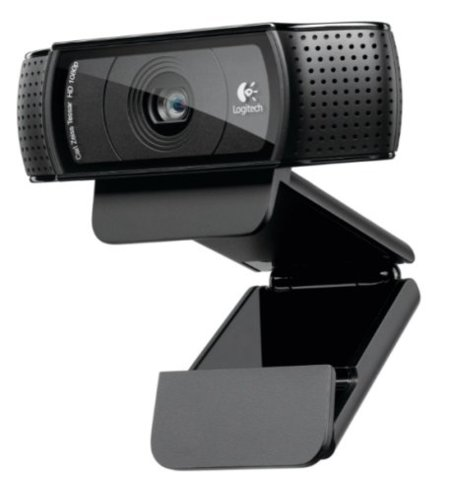 Logitech HD Pro Webcam C920 promete nitidez para tus videollamadas