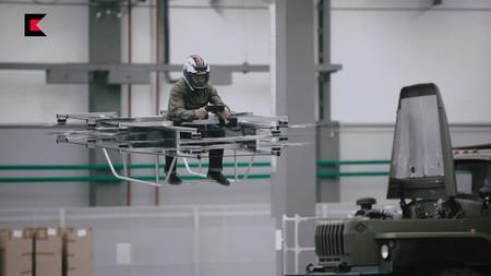 Coche Volador De Kalashnikov