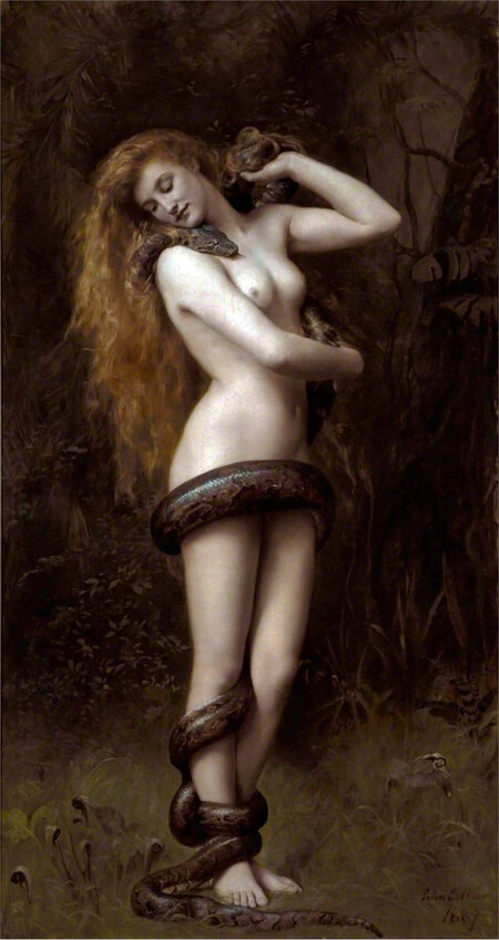 Lilith John Collier Painting