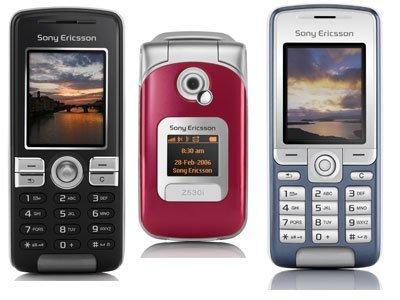 3 nuevos teléfonos móviles de Sony Ericsson