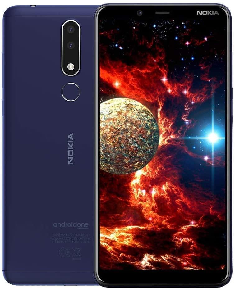"""Nokia 3.1 Plus 15.2 cm (6"""") 3 GB 32 GB Tarjeta SIM Sencilla 4G Azul 3500 mAh"""