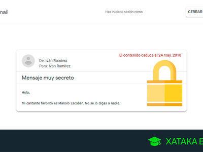 Cómo enviar mensajes confidenciales que se autodestruyen en Gmail