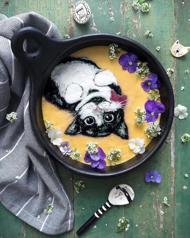 Comida de EsCultura: pinturas sobre bowls de smoothies para inspirar tus mañanas