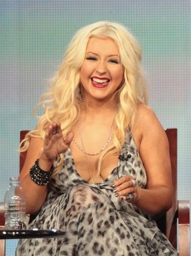 Christina Aguilera te lo vuelve a decir, ¡está encantada con su nueva figura!