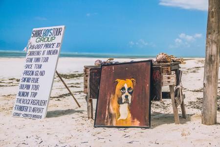 Beach Sea Wood Stool Dog Summer 130160 Pxhere Com