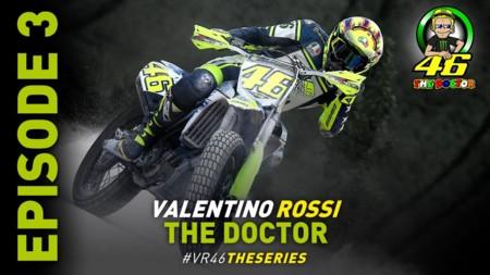 Valentino Rossi: The Doctor. Tercera parte con olor a barbacoa