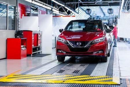 Nissan LEAF imparable: alcanza el hito de las 500 mil unidades producidas
