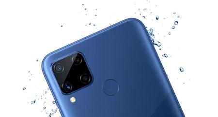 Realme C15, la marca completa su catálogo de móviles baratos con cuatro cámaras y enorme batería en un teléfono atractivo