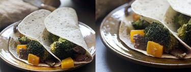 Fajitas de ternera, calabaza y brócoli, receta sabrosa para una cena rápida