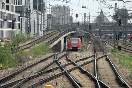 S Bahn Munchen Uberwerfung Hackerbrucke 1