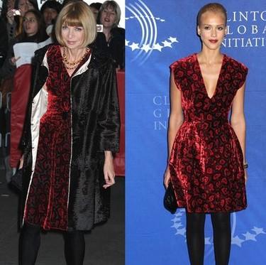 Vestido de Prada ¿Anna Wintour o Jessica Alba?