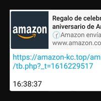 """La nueva estafa en WhatsApp involucra a Amazon México: un mensaje falso """"ofrece regalos"""" por aniversario"""