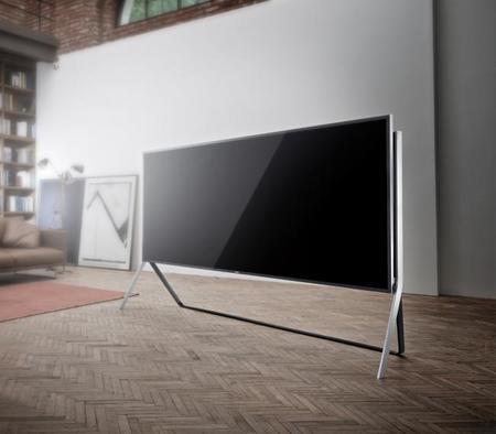 ¿Plano o curvo? Con este Televisor de 105 pulgadas flexible de Samsung tu eliges