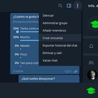 Cómo crear encuestas y cuestionarios en Telegram