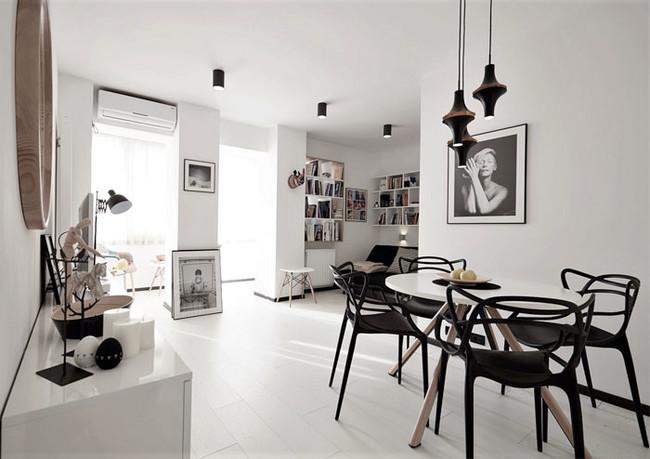 Apartamento Blanco Negro 01
