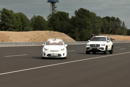 Mercedes Gle Pruebas Euro NCAP sistemas de conducción semiautónoma
