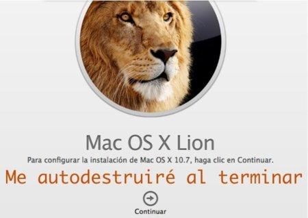 OS X Lion: Ahorra ancho de banda copiando el instalable una vez descargado