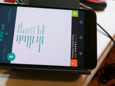 Así se modifica un Nexus 6P para añadirle un sistema de carga inalámbrica
