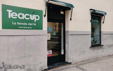 Teacup, tienda de té y a la vez punto de recogida de SEUR.