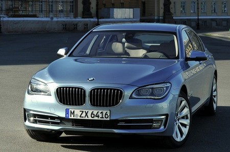 BMW ActiveHybrid 7 gris