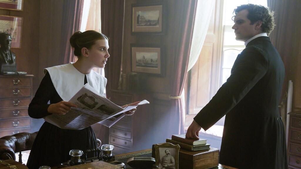 'Enola Holmes 2' en marcha: Millie Bobby Brown y Henry Cavill regresan para la secuela de la película de Netflix