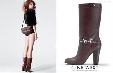 Constance Jablonski nos muestra LOS zapatos (de Nine West)