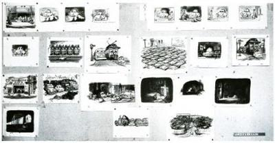Storyboard de 'Suzie the Little Blue Coupe'
