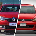 ¿Cuál me llevo? Volkswagen Gol iMotion vs. Renault Sandero