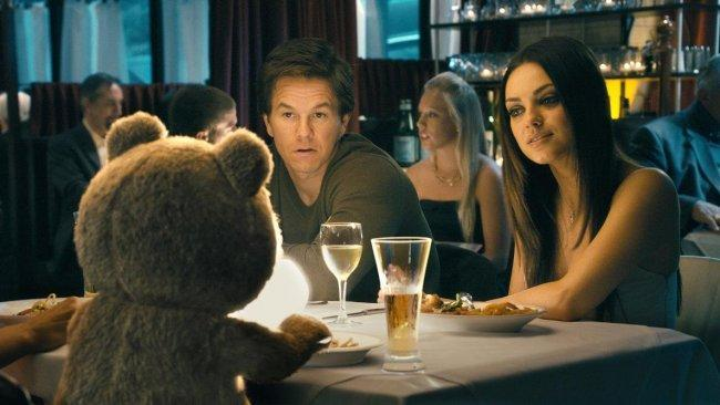 Imagen de los tres protagonistas de 'Ted'