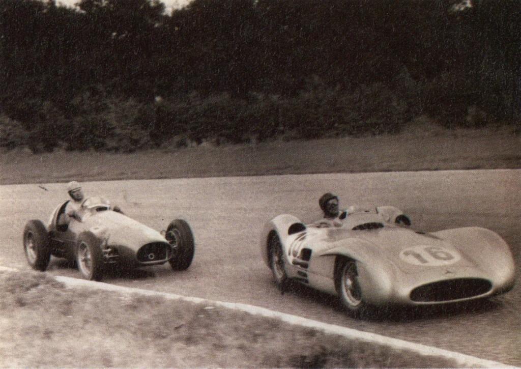 Fangio Ascari Italia Go 1954