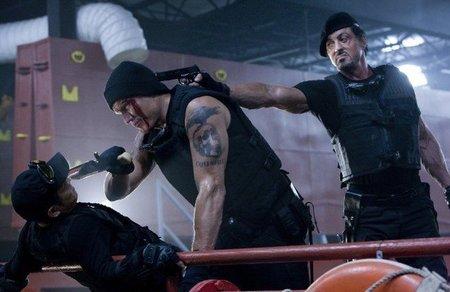 'Los mercenarios (The Expendables)', cine malo, con encanto