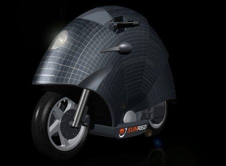 Prototipo de moto solar de Sunred