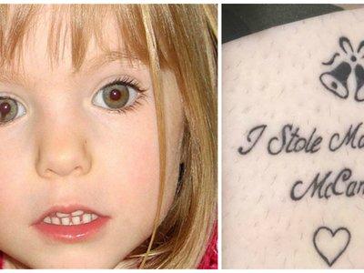 """""""Yo robé a Madeleine"""", el cruel mensaje con el que los turistas británicos de Magaluf tatuan su cuerpo"""