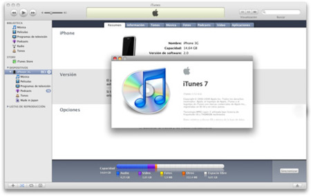Actualización de software: iTunes 7.7.1