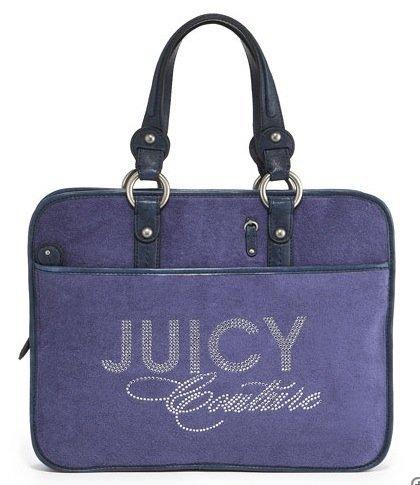 Maletín para el portátil de Juicy Couture, tecnología a la moda