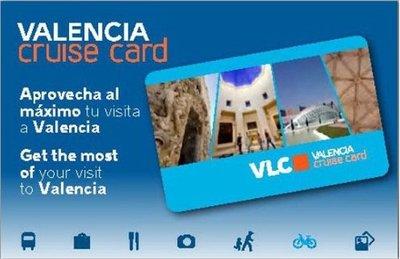 VLC Cruise Card, tarjeta turística de Valencia pensada para cruceristas