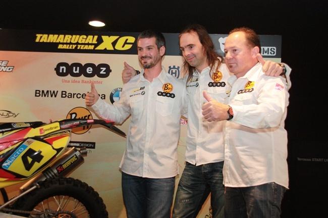 Presentación Jordi Viladoms Dakar 2013