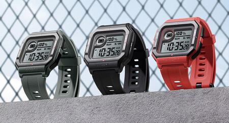 Diseño retro y autonomía de hasta 28 días: el smartwatch Amazfit Neo con sensor de frecuencia cardíaca por 25 euros es un chollo