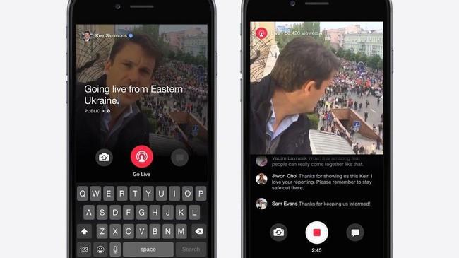 Facebook no tira la toalla con las apps de vídeo en directo y prepara una más avanzada