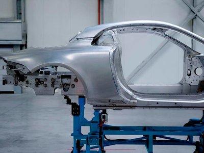 El Alpine A120 tendrá el chasis y la carrocería de aluminio