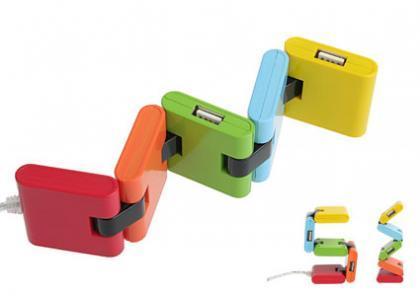 Hub USB de colores