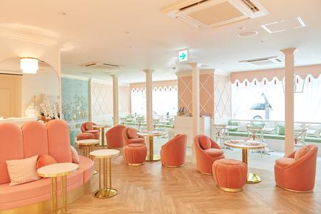 Un salón de té adorable, en el que superar la depresión postvacacional... ¡en Japón!