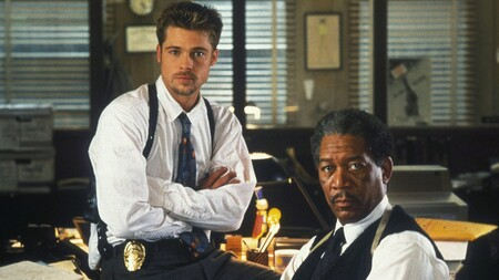 Brad Pitt Morgan Freeman