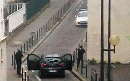 Tiroteo en París tras los atentados de Charlie Hebdo