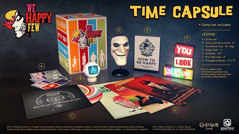 We Happy Few Collector's Set Pack (juego no incluido) - Collector's Edition