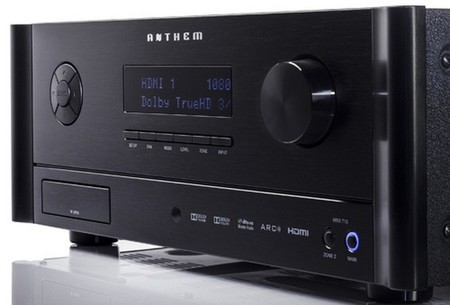 Anthem presenta tres nuevos receptores A/V de gama media-alta