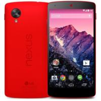 El Nexus 5, ya disponible en Google Play en color rojo