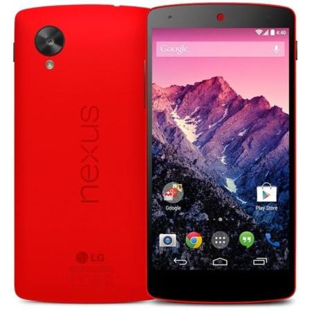 El Nexus 5, ya disponible en Google Play en color rojo